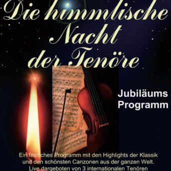 die himmlische Nacht der Tenöre - RGV Veranstaltungen