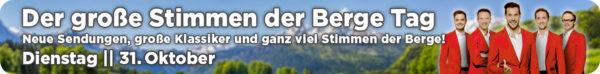 STIMMEN DER BERGE TAG